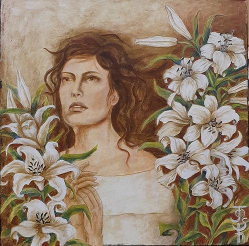 """""""Sophia"""" 80 x 80cm"""