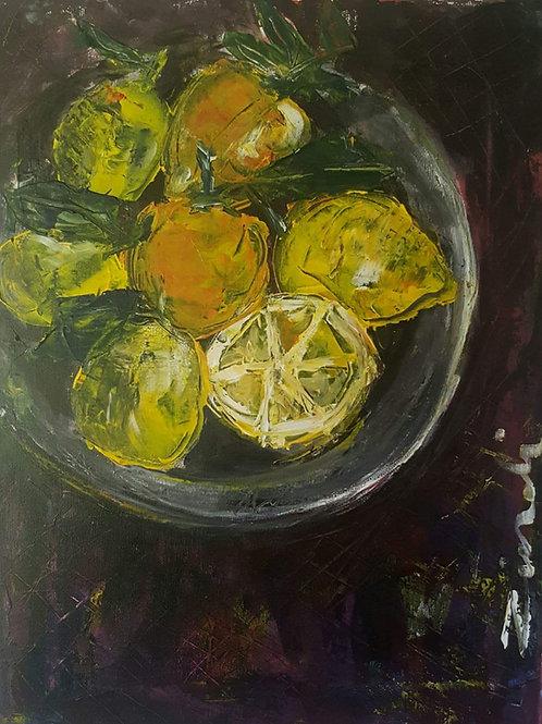 """""""Lemons on purple"""""""