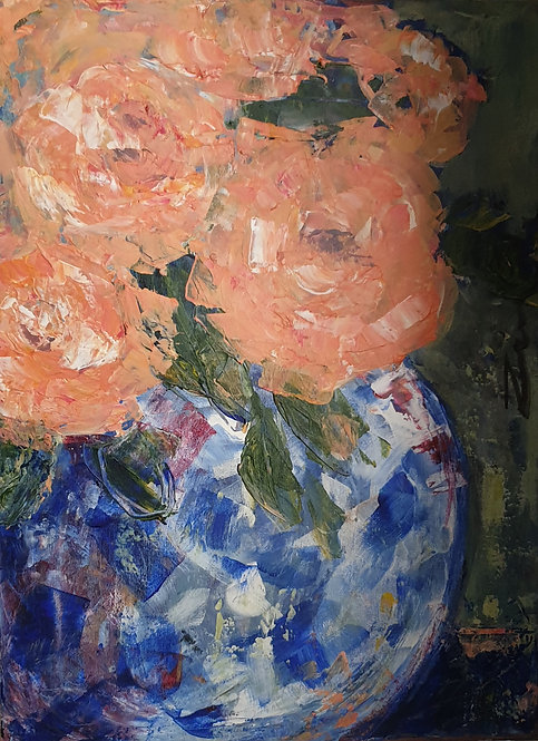 """""""Peach roses 1"""""""