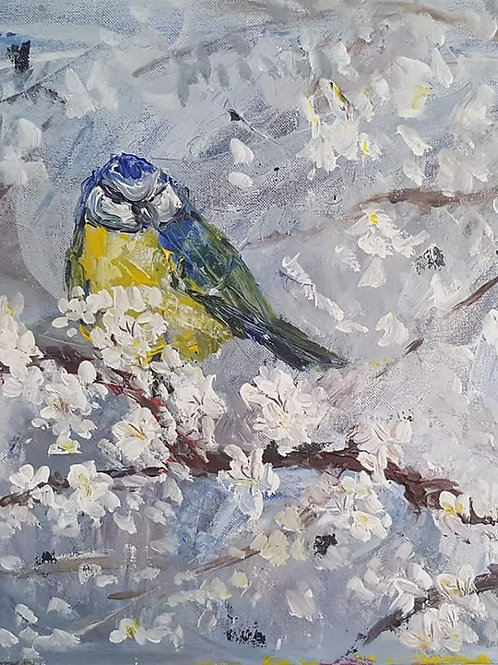 """""""Bird and blossoms"""""""