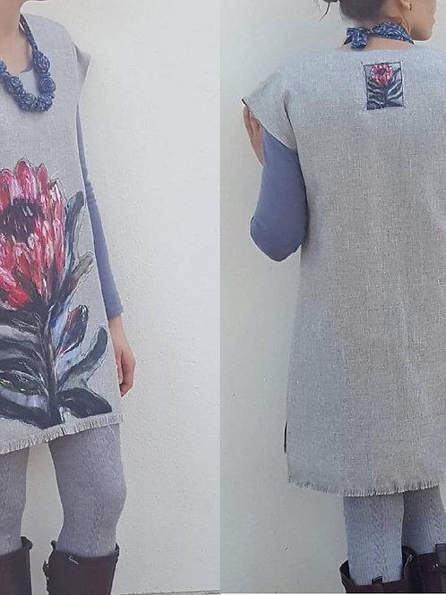 Woman Grey Protea tunik