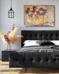 Protea wall art by Zindi