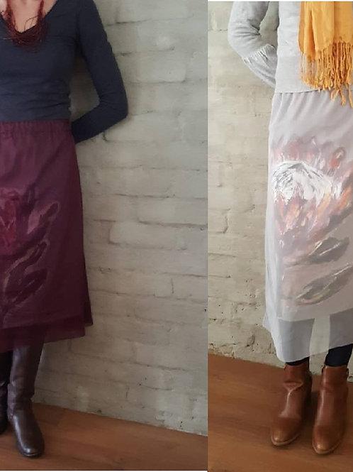 Mech Protea skirt