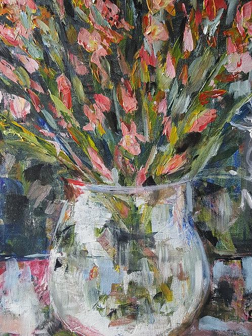 """""""Peach sword lilies"""""""