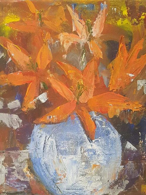 """Orange lillies"""