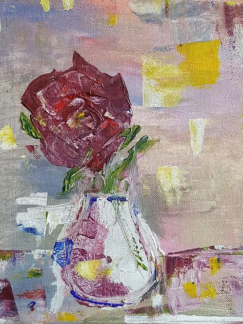 """Purple rose"""