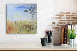 Windmill wall art by Zindi