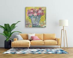 Proteas wall art by Zindi