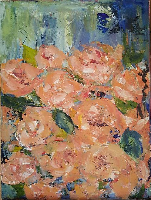 """""""Peach roses 2"""""""