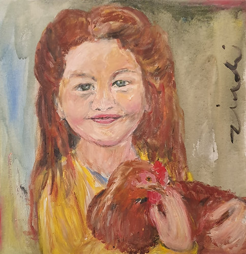 """Farm girl"""