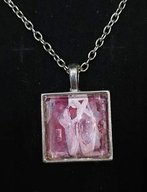 Ballet Zindi art pendant with chain