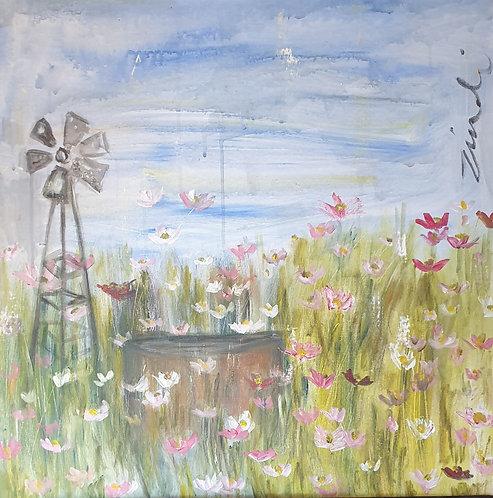 Kosmos and windmill