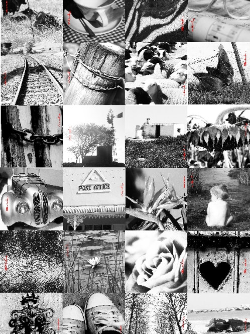 Black & White card Collection