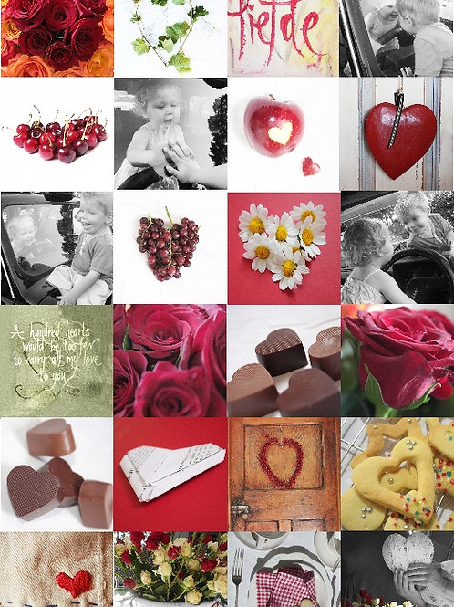 Cherries and Chocolates card Collection