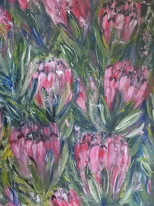 """Proteas 2"" 60 x 60cm"