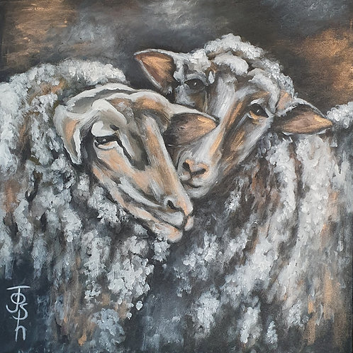 """Two sheep"""