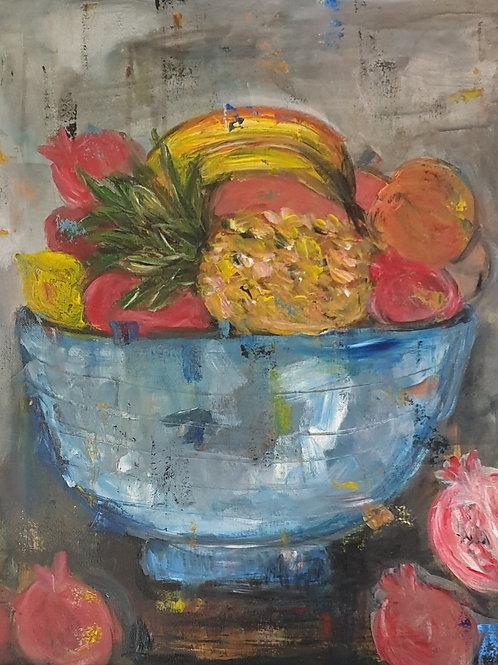 """Fruit bowl"" 60 x 60cm"