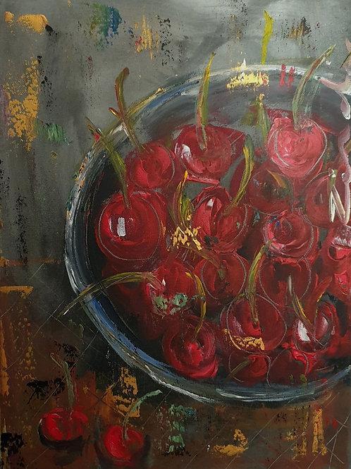 """""""Cherries on dark"""""""
