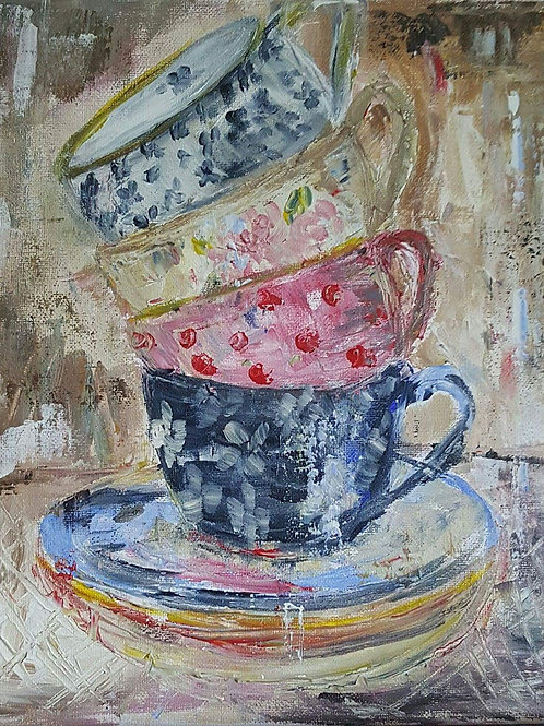 """""""Cups and saucers"""""""