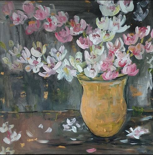 Floral on dark