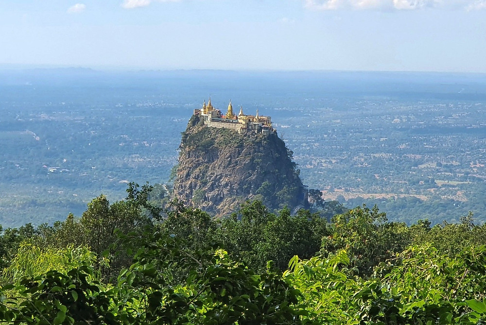 Mount Popa also known as Taung Kalat