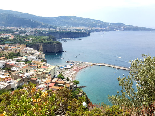 A day on the Amalfi Coast, on a Vespa