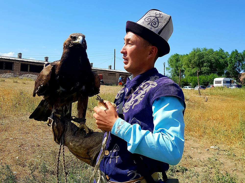 Eagle Hunting Kyrgyzstan things to do