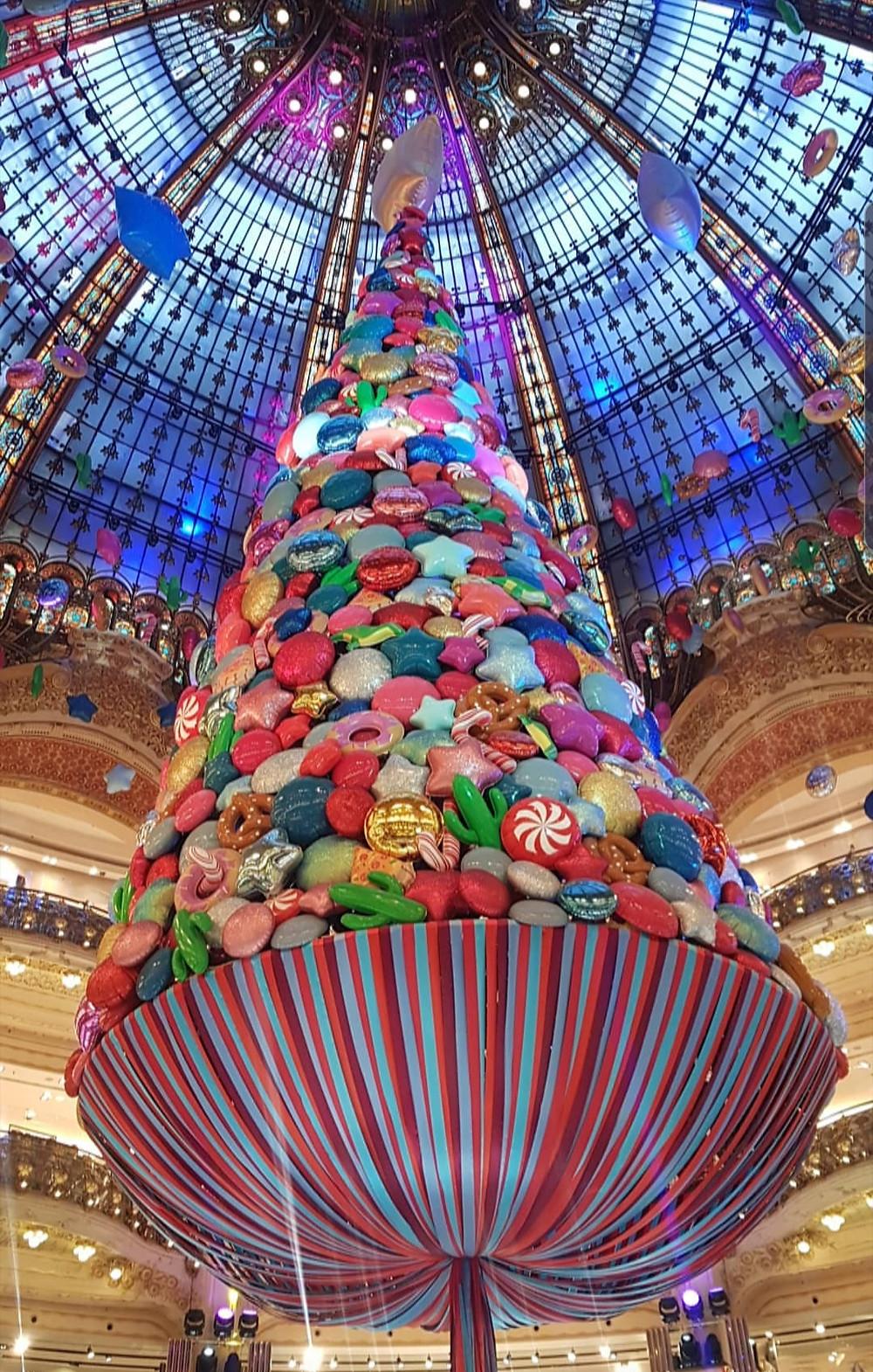 Galeries layatte in Christmas