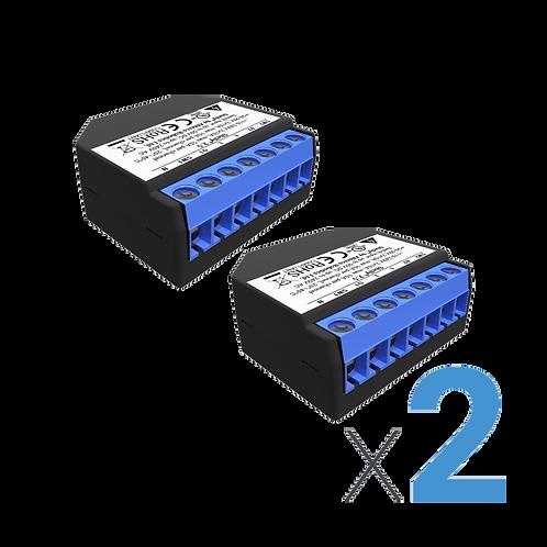 מודול shelly 2.5 X 2