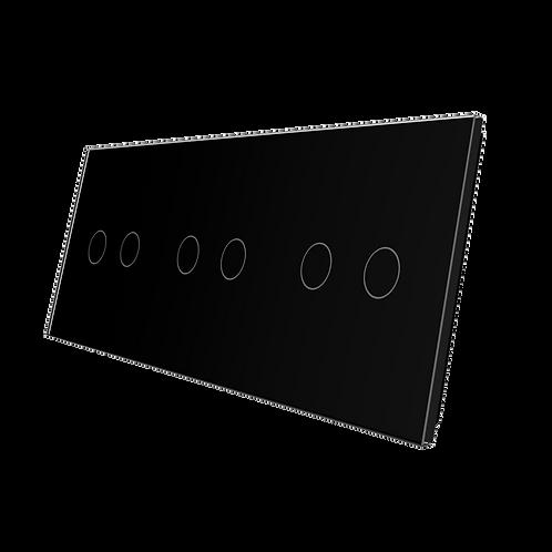 זכוכית 6 הפעלות + מתאם