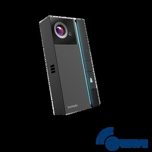 מצלמת פעמון בית חכמה עם בקר Z-Wave