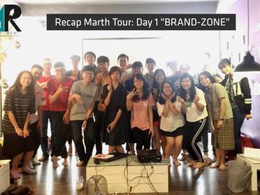 """Recap Marth Tour day 01: Brand Zone - """"Nếu không có vision chỉ là follower"""""""