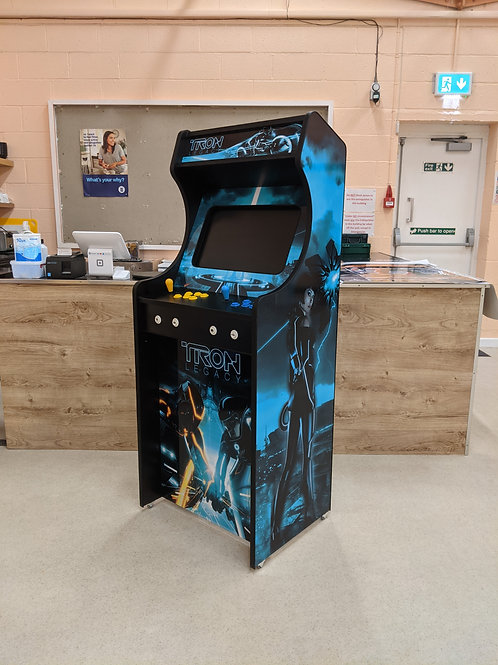 Tron Legacy Themed Home Arcade Machine