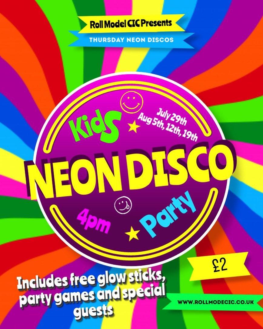 Kids Neon Disco