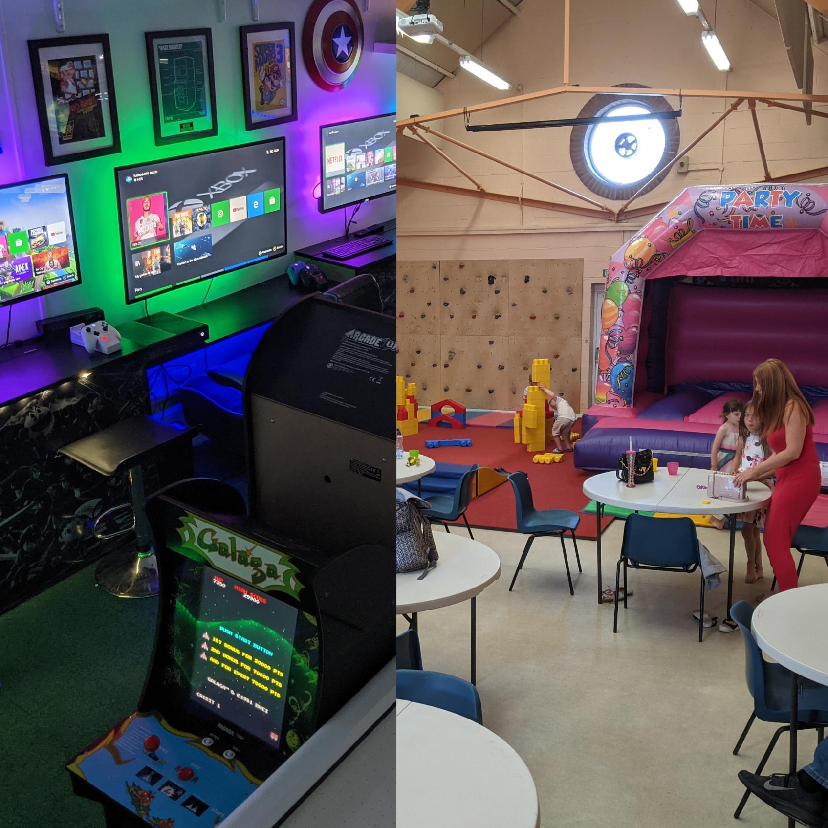 Birthdays- Softplay, Gaming Suite & Food