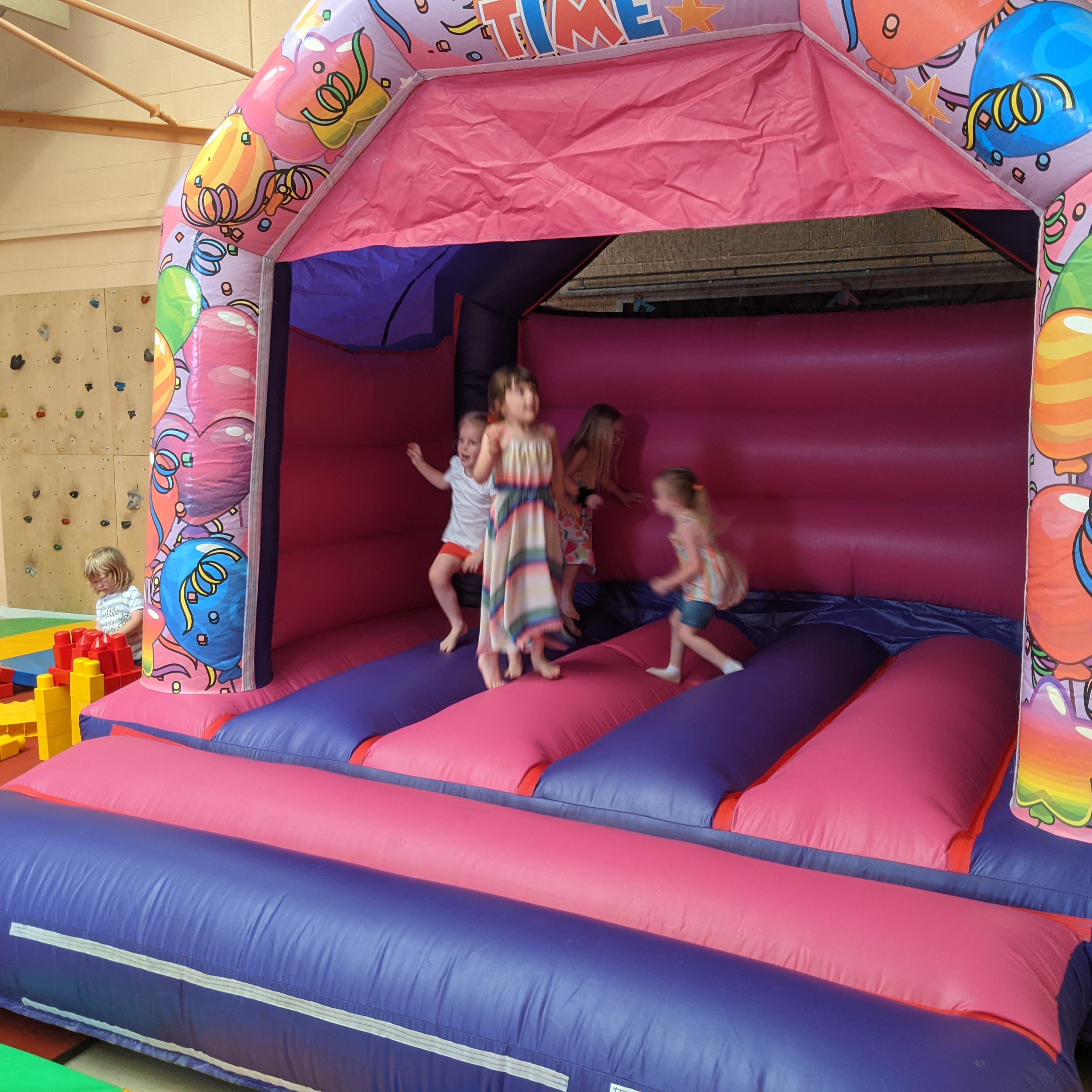 Birthdays - Softplay, Castle & Games