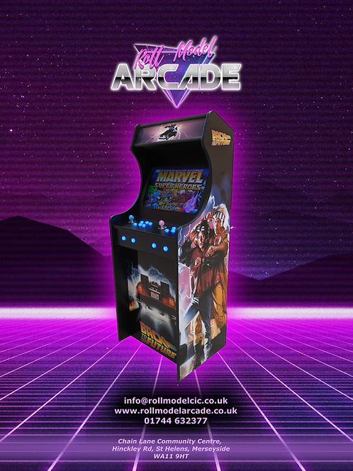 Back to the Future Themed Home Arcade Machine