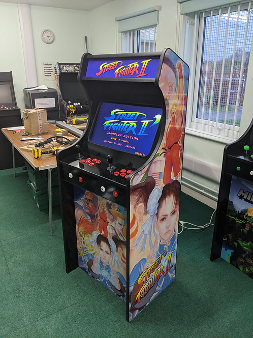 Street Fighter Themed Home Arcade Machine