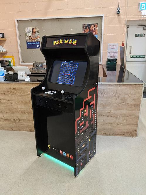 Pac-Man Themed Home Arcade Machine