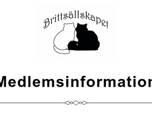 Medlemsinformation