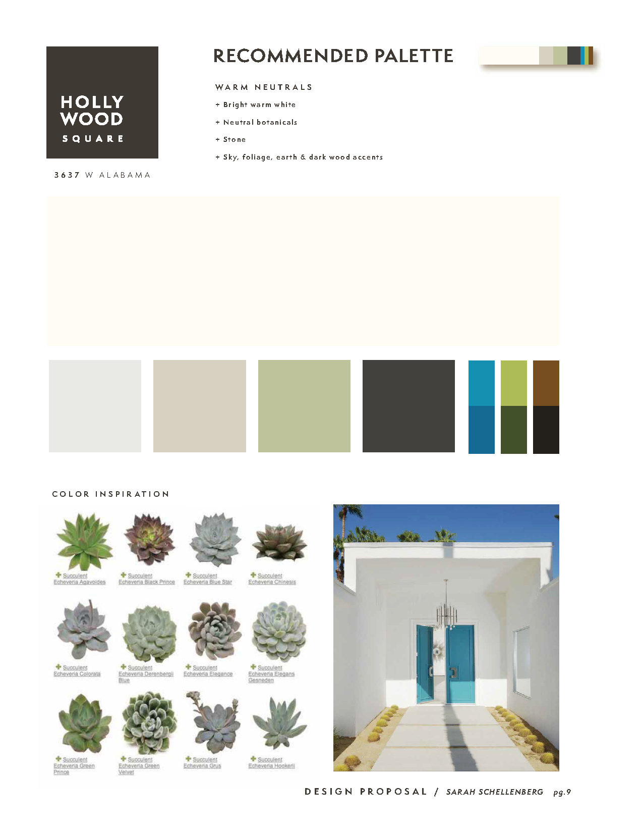 Hollywood Square | Palette