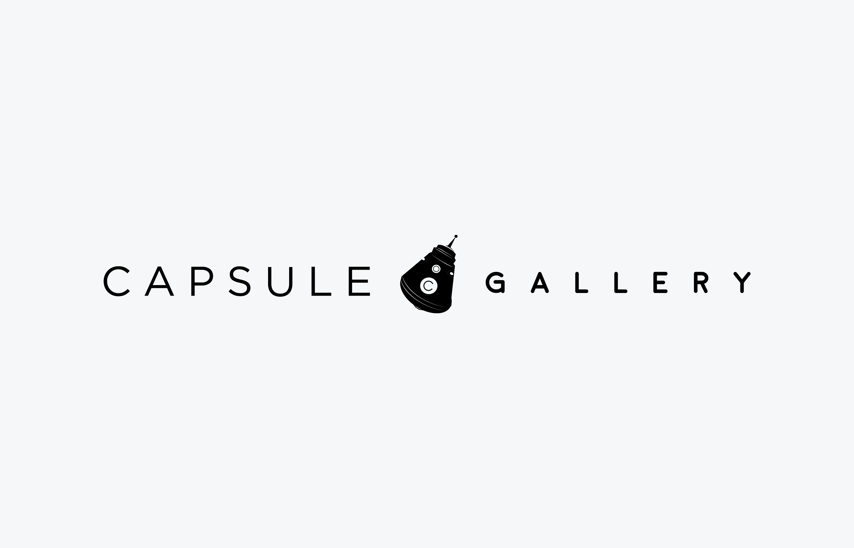 Capsule Logo, horizontal