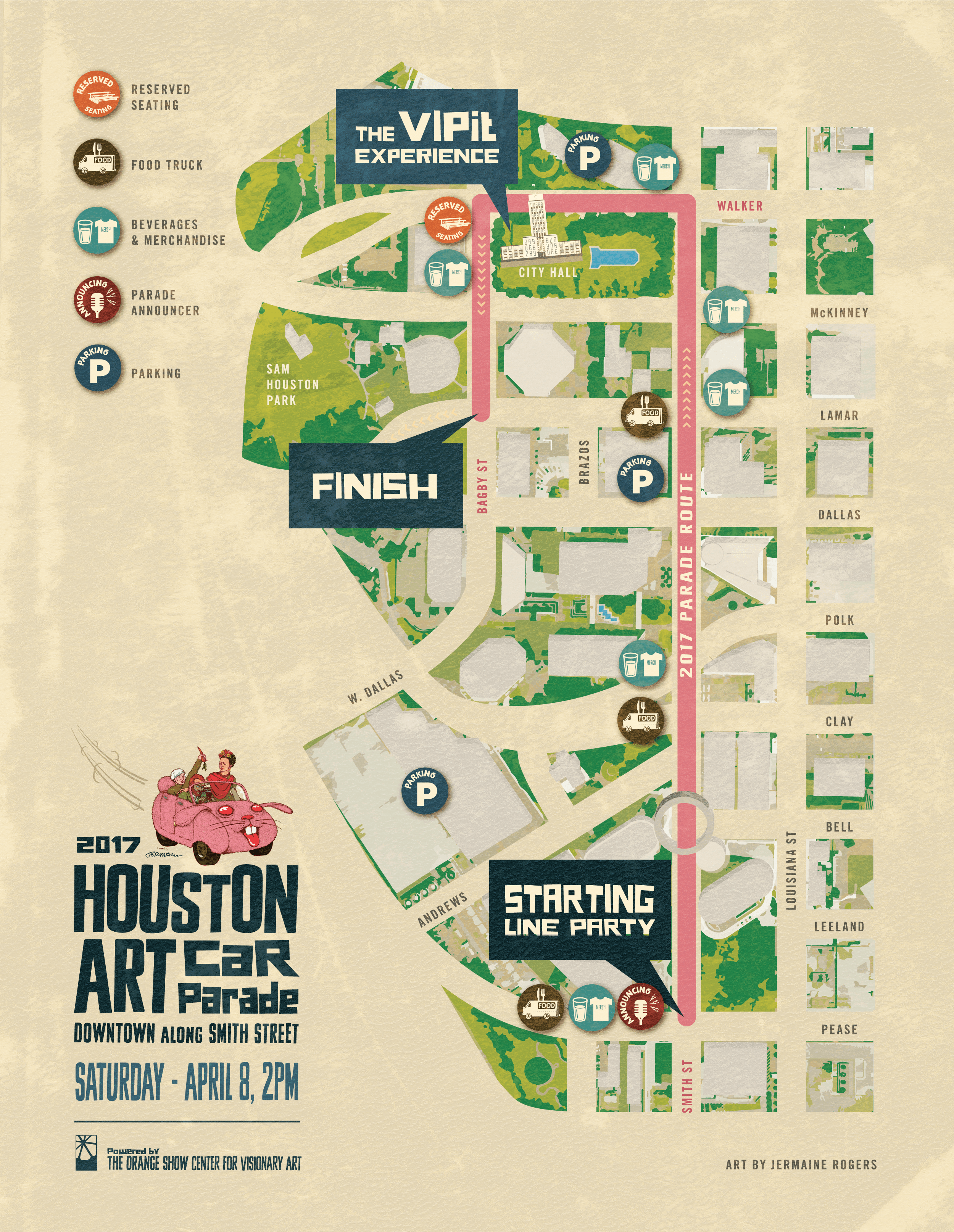 2017 Parade Map