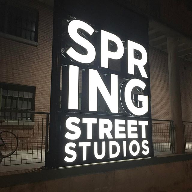 Custom Lighted Sign | Spring Street