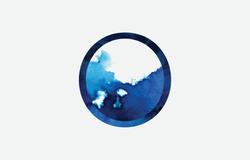 Logo | watercolor vector detail