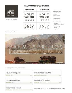 Hollywood Square | Logo fonts/inspo