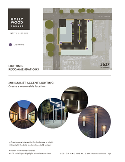 Hollywood Square | Lighting