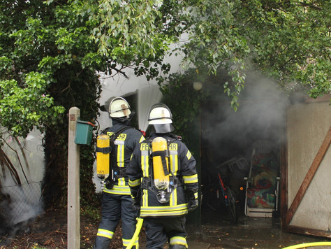 Schuppenbrand in Weener