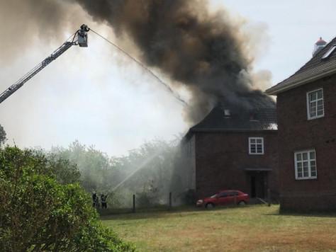 Mehrfamilienhaus auf Borkum durch Feuer schwer beschädigt