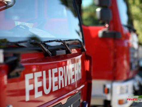 Mikrowelle in Brand geraten